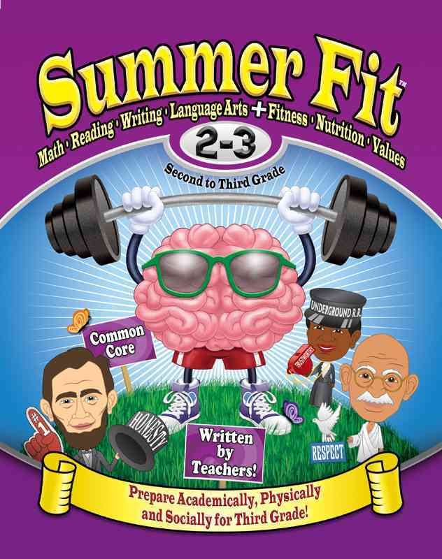 Summer Fit, Second to Third Grade By Terrill, Kelly